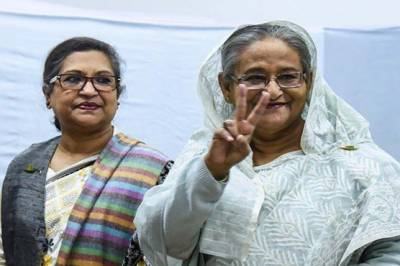 Bangladesh Hasina Wajid heads for landslide victory amid deadly violence and massive rigging reports