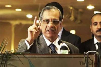 CJP Justice Saqib Nisar warns India