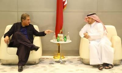 FM meets Qatari Prime Minister in Doha