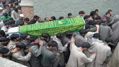 Multiple rounds of funerals held for martyred youth