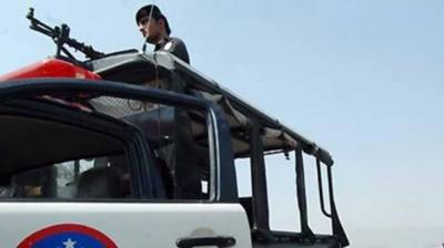 One police official martyred, another injured in terrorists fire