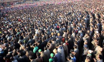 Thousands attend funeral of youth martyred by Indian in Pulwama