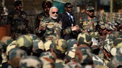 Indian PM Narendra Modi lashes out at Pakistan yet again