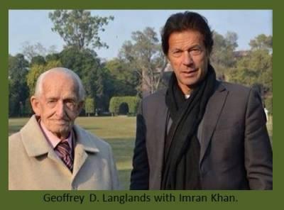Major Geoffrey Langlands, PM Khan teacher and former Aitchison College dean passes away at 101