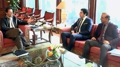 Minister for Water Resources, Governor Sindh call on PM