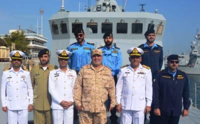 Pakistan Navy Ships deployed in Gulf region: Report
