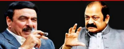 Sheikh Rashid was running gambling den in 1985, alleges Rana Sanaullah