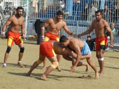Indian Kabbadi team arrives in Pakistan for international Kabaddi Taakra