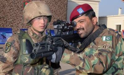 Pakistan China joint military exercise culminate in Pakistan