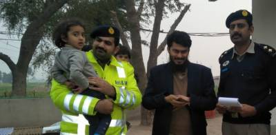 Pakistan Motorways Police sets yet another example of excellent professionalism