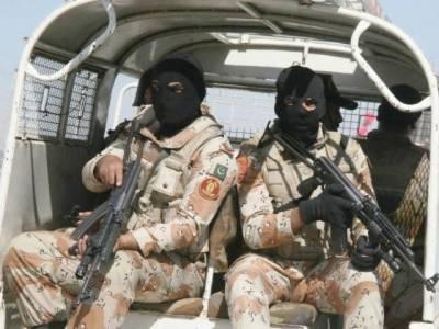 Sindh Rangers arrests criminals gang including MQM London gangster