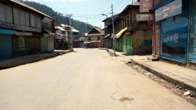 Complete shutdown being observed in Sopore