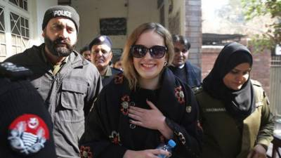 Czech Model Tereza may face upto 10 years prison over drugs smuggling in Pakistan