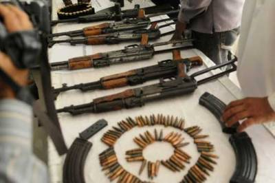 More than 1.5 million arms and ammunition seized in KP