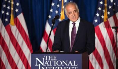US top envoy Zalmay Khalilzad to visit Pakistan, China over Afghanistan peace talks