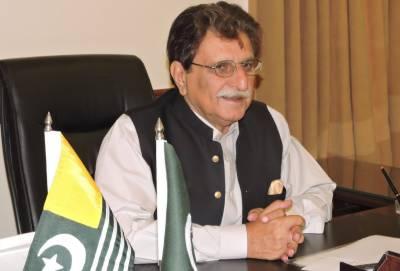 AJK PM urges Pakistan to raise Indian LoC violations, atrocities at int'l forums.