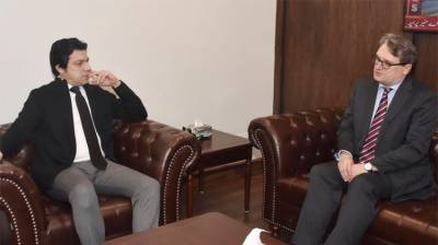 Faisal Vawda, Nicolaus KELLER discuss bilateral ties