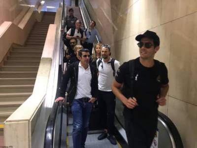 International football stars arrived in Pakistan for launching World Soccer Stars event