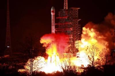 China sent Zhongxing Satellite into space