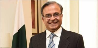 New Pakistan Ambassador to US Dr Asad Majeed Khan to meet President Donald Trump today