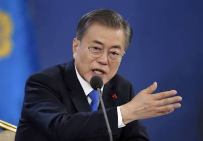 S Korean President hails Chinese role in denuclearizing Korean Peninsula