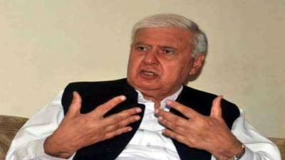 Sherpao, Daudzai discuss peace process in Afghanistan