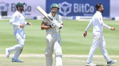 3rd Test: South Africa all out for 262