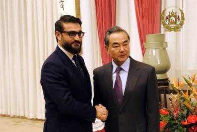 Afghanistan NSA holds important meeting with Chinese Foreign Minister