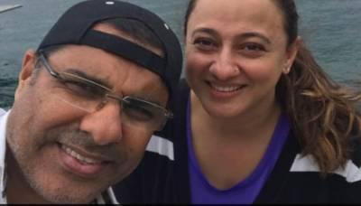 Former Skipper Waqar Younis tweets about her Star Wife Faryal