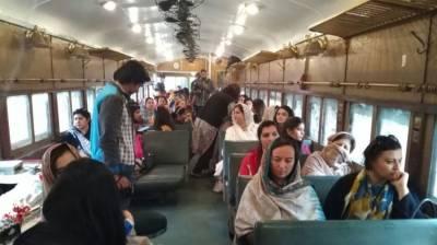 KP Tourism Department launches Safari Train for tourists