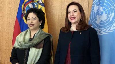 Maleeha Lodhi holds important meeting with UNGA Chief