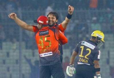 Shahid Afridi stuns all with his yet another Man of the Match performance in BPL