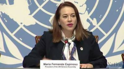 UN General Assembly President to arrive in Pakistan for her first ever visit