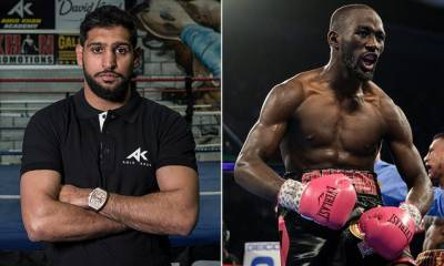 Amir Khan to fight unbeaten Crawford in April
