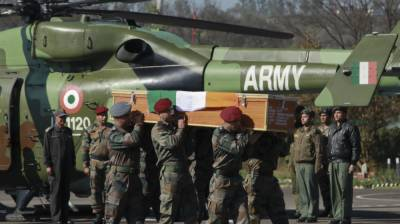 Indian Military collects 419 coffin of soldiers committing suicide in Occupied Kashmir