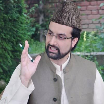 Mirwaiz warns India, demographic change will not be allowed in IOK