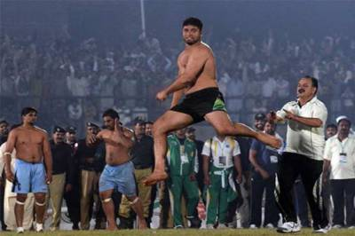 Pakistan Green defeats India in Int'l Kabaddi Taakra
