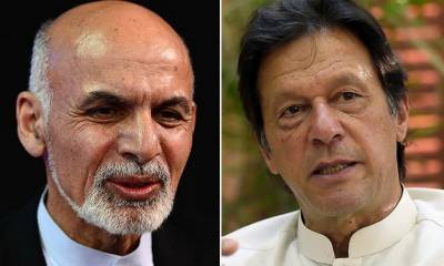 Afghanistan President holds important phone call with PM Imran Khan