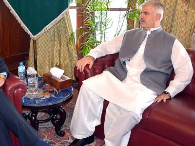 CM chairs high level meeting, asks federal govt. to clear Rs65bn net hydel profit
