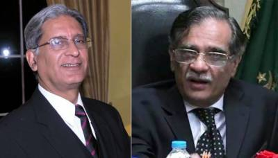 I always wanted to be your student, CJP tells Aitzaz Ahsan