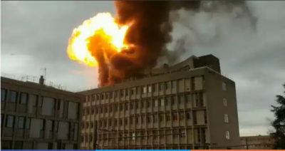 Massive explosion at a French University