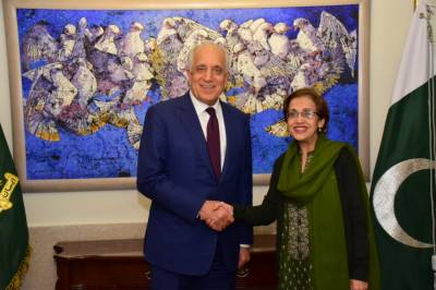 Zalmay Khalilzad holds high level talks in Pakistan Foreign Office