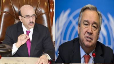 AJK President welcomes UN Chief's statement on Kashmir