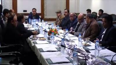 CM Punjab chairs high level meeting over Sahiwal encounter