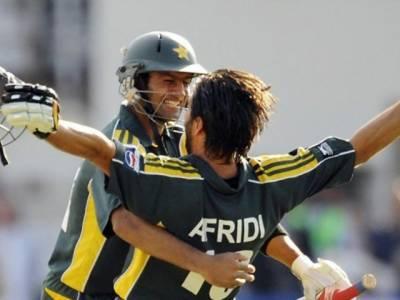Shoaib Malik breaks silence over playing alongside Shahid Afridi