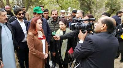 UNGA President plants a tree as part of 10 BillionTreeTsumani in Islamabad