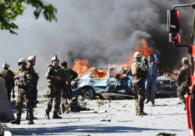 Afghan Taliban Kill 12 in Car Bomb Attack on Military Base