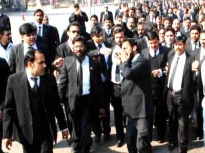 KP: Lawyer community observing strike against Sahiwal incident