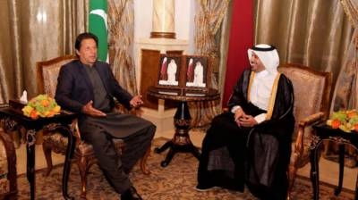 PM Imran Khan holds important meeting with Qatari PM, followed by official dinner