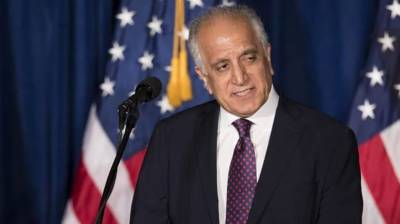 US envoy Zalmay lauds Pakistan's resolve for Afghan peace